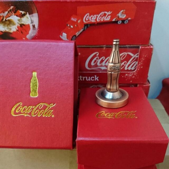 YUMO家 可口可樂 100週年紀念印章 全新盒裝