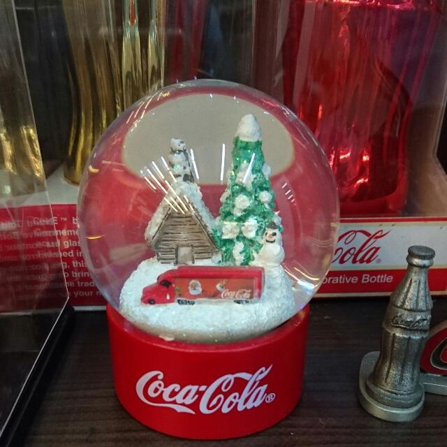 YUMO家 聖誕老公公 卡車 水晶球 盒裝