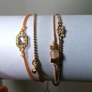 4-set Adjustable Bracelets