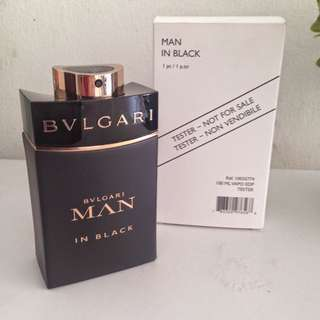 Bvlgari Man In Black Tester Pack Edp