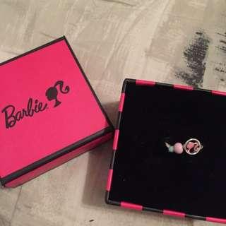 Barbie泡泡糖甜心戒指💍