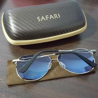 fe74a00e9fd Safari Evan Blue Polarized Sunglasses (MP10601-SV)
