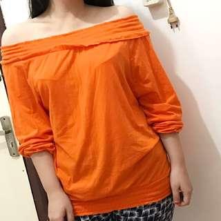 Sabrina Top Orange