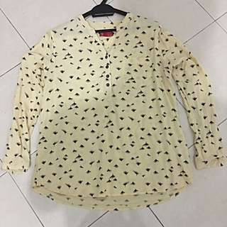 PDI Light Yellow Blouse