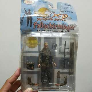 1/18  21st Century Toys The Ultimate Soldier Fallschirmjager German Paratrooper  Lance Corporal Mayer