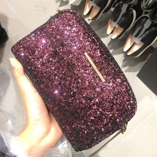 Padini Glitter Clutch Bag Purse LOOKING FOR