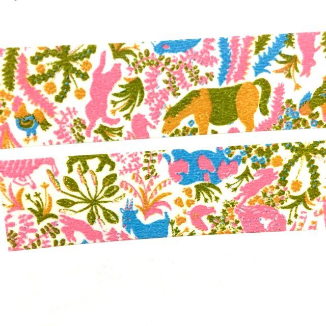 (040)紙膠帶分裝-倉敷意匠-牧場