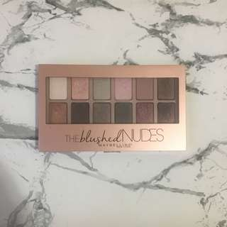 The Blushed Nudes (Maybelline)