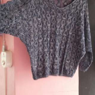 Knitted Cover Up Blouse