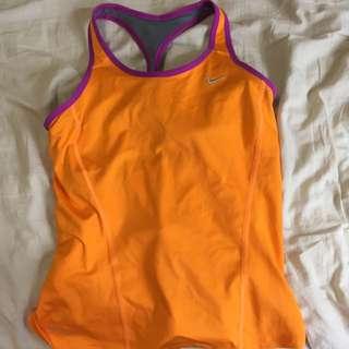 Nike Size 8 Women's Racer Back Training Singlet