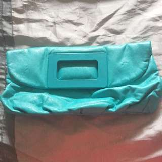 H&M Turquoise Clutch
