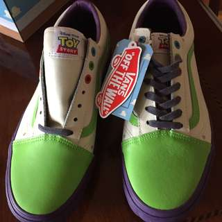 Vans Men's Toy Story Shoes Size 9.5