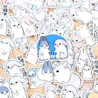 ⏰ Planner Stickers — Animals (Rabbit)