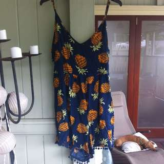 Mombasa Pineapple Jumpsuit