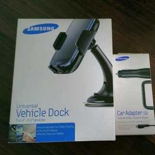 Samsung Car Adapter And Vehicle Dock