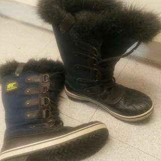SOREL Winter Boots (Navy Blue/Black)