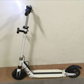 Must Sell! Bid Your Price! Used Etwow Electric Kick Scooter