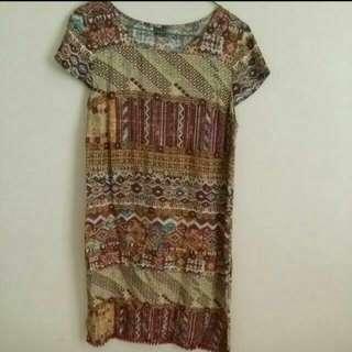 Free Postage - Tshirt Dress