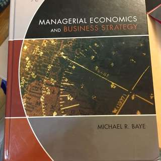 Managerial Economics And The Business Strategy