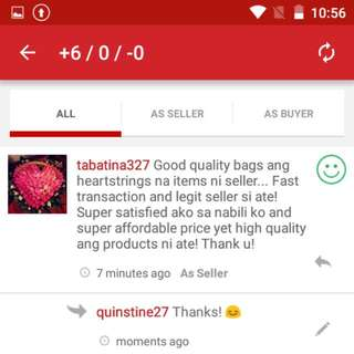 Positive Feedbacks 😊❤