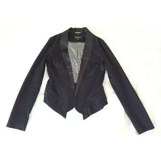 Pepe Jeans London Black Jacket with lapels Size XS