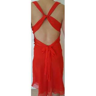 New Tokito Sexy Red Dress Size 8