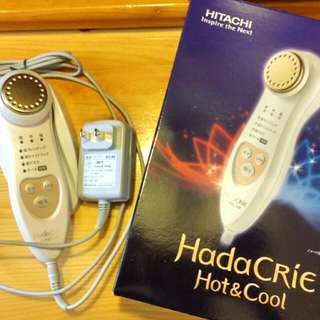 Heliocare Hada Crie CM-N2000 Hot And Cool Ion Cleansing And Moisturizing Device