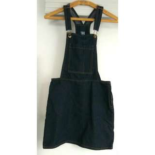 Dark Wash Pinafore