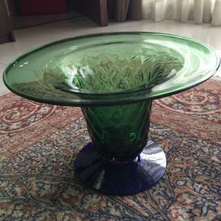 Antique Vase Green Blue