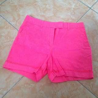 H&M Neon Pink Pants
