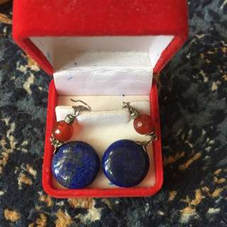 Chic Genuine Stone Ear Ring