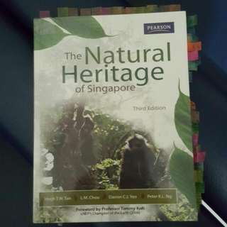 [RESERVED] Natural Heritage of Singapore Textbook (3rd Edition)