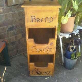 Bread/Spudz/Onions😋Teak Unit🙏