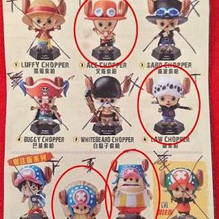 7-11海賊王公仔