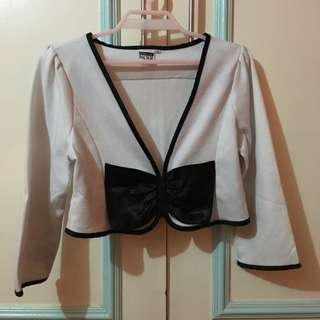 Preloved blazer (white)