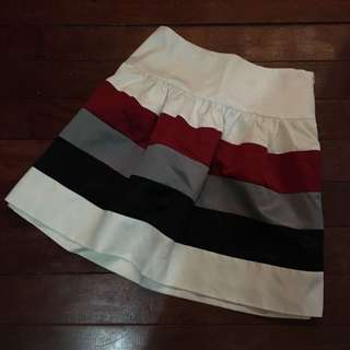 Preloved skirt (stripes)