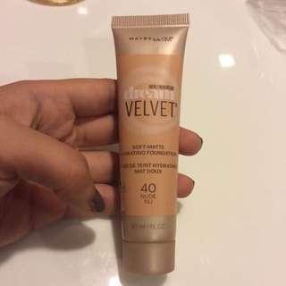 Dream Velvet Soft-matte Hydrating Foundation