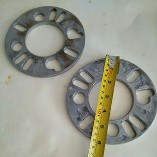 Alloy Wheel Spacers 6mm