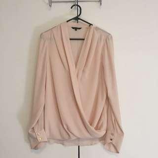 Dusty Pink Portmans Shirt Size 10
