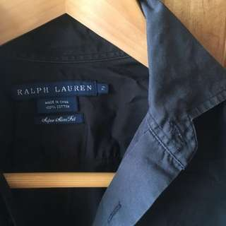 Ralph Lauren Shirt Sz2 (Aust 6)