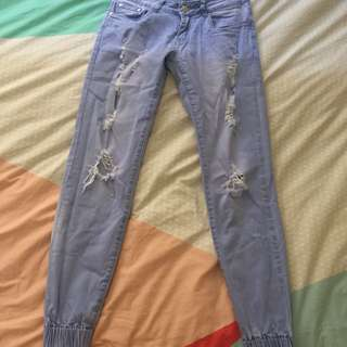 The Cherry Shop Size 8 Ripped Jeans