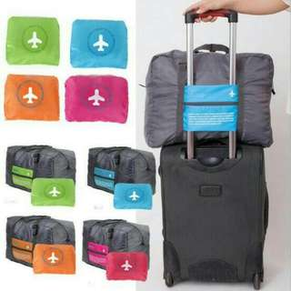 Foldable Travel Bag Portable Hand Carry Light Travelling Luggage Pouch