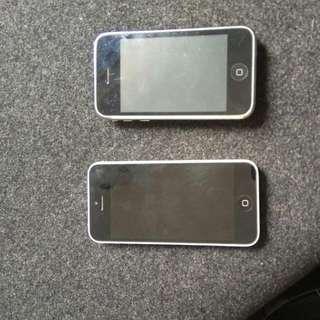 Broken iPhones - 3GS & 5C