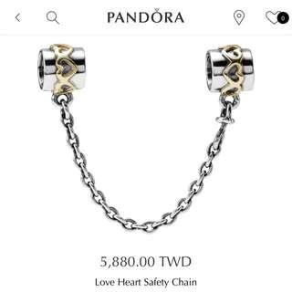 潘朵拉Pandora Charm 金!安全鏈