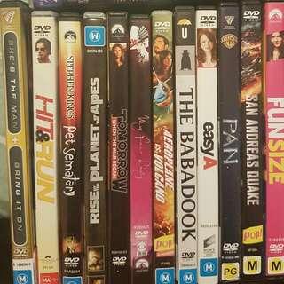 Bulk DVDs