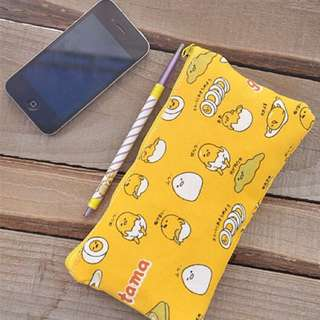 <PO> Gudetama canvas pencil case