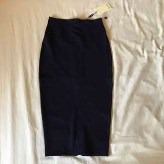 Bardot High Waisted Midi Skirt