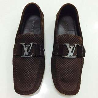 LV Size 5.5 Suede Loafers