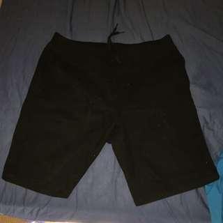 Crooks And Castles Black Shorts
