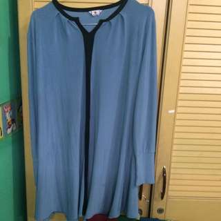 Blu Black List Blouse